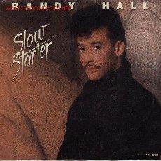 Discos de vinilo: RANDY HALL . Lote 1064718