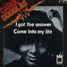 Discos de vinilo: CAROL DOUGLAS . Lote 1064738