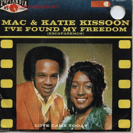 MAC & KATIE KISSOON (Música - Discos - Singles Vinilo - Jazz, Jazz-Rock, Blues y R&B)