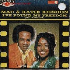 Discos de vinilo: MAC & KATIE KISSOON . Lote 1064741