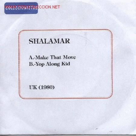 SHALAMAR (Música - Discos - Singles Vinilo - Jazz, Jazz-Rock, Blues y R&B)