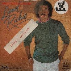 Discos de vinilo: LIONEL RICHIE . Lote 1064813