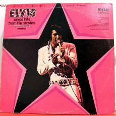 Discos de vinilo: ELVIS PRESLEY ( SINGS HITS FROM HIS MOVIES ) USA-1972 LP33. Lote 5104352