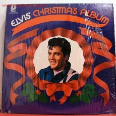 Discos de vinilo: ELVIS PRESLEY ( ELVIS' CHRISTMAS ALBUM ) USA-1970 LP33. Lote 23385835