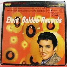 Discos de vinilo: ELVIS PRESLEY ( ELVIS' GOLDEN RECORDS ) LP33. Lote 23385878