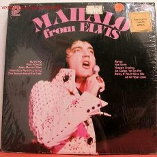 Discos de vinilo: ELVIS PRESLEY (MAHALO FROM ELVIS ) USA LP33 RCA. Lote 1065558