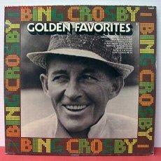 Discos de vinilo: BING CROSBY ( GOLDEN FAVORITES ) LP33. Lote 1068188