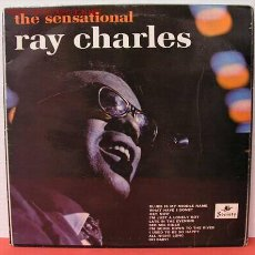 Discos de vinilo: RAY CHARLES - THE SENSATIONAL RAY CHARLES, UK LP ARC. Lote 1068244