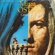 Discos de vinilo: MARIA OSTIZ - CANTA CANTA... / NAVERIÑA DO MAR / CANCION DEL RUISEÑOR / MAITE / MIL ROSAS XX. Lote 24085827