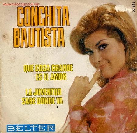CONCHITA BAUTISTA (Música - Discos - Singles Vinilo - Solistas Españoles de los 70 a la actualidad)