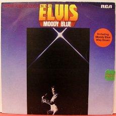 Discos de vinilo: ELVIS PRESLEY ( MOODY BLUE ) USA - 1977 LP33 RCA RECORDS. Lote 5104351
