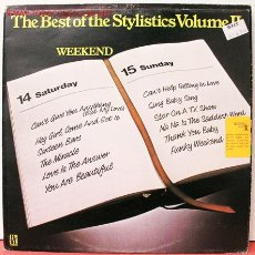 Discos de vinilo: THE STYLISTICS ( THE BEST OF THE STYLISTICS VOLUME II ) LP33. Lote 10837395