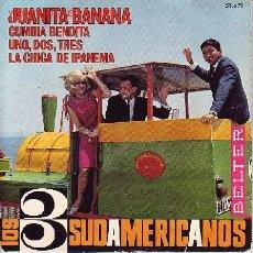 Discos de vinilo: LOS 3 SUDAMERICANOS DISCO EP. Lote 24228504