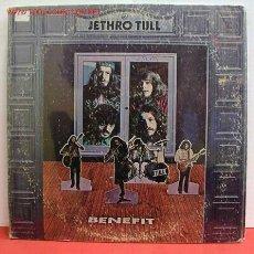 Discos de vinilo: JETHRO TULL ( BENEFIT ) LP33. Lote 1079562