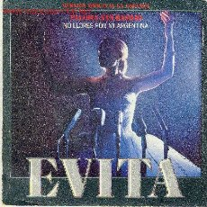 Discos de vinilo: UXV PALOMA SAN BASILIO Y PATXI ANDION - EVITA VERSION ORIGINAL EN ESPAÑOL. Lote 21614930