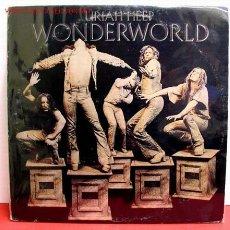 Discos de vinilo: URIAH HEEP – WONDERWORLD USA 1974 WARNER BROS RECORDS. Lote 1084563