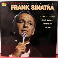 Discos de vinilo: FRANK SINATRA ( THE BEST OF FRANK SINATRA ) LP33. Lote 10837400