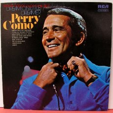 Discos de vinilo: PERRY COMO ( DREAM ON LITTLE DREAMER ) LP33. Lote 1004166