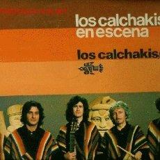 Discos de vinilo: DISCO L. P. DE VINILO DE LOS CALCHAKIS EN ESCENA, LOS CALCHAKIS/VOL 5: LA PASTORA, VIENTO MOCHICA, P. Lote 24971238