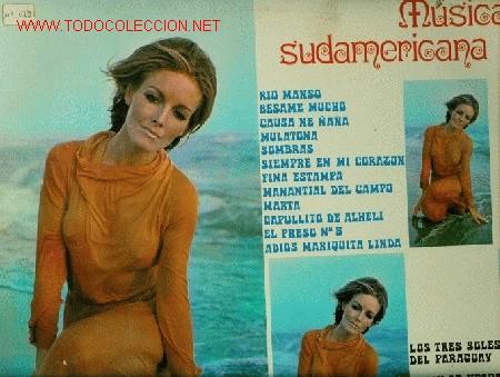 SEXY COVER. DISCO L. P. DE VINILO DE MÚSICA SUDAMERICANA: RIO MANSO, BÉSAME MUCHO, CAUSA NE ÑAÑA, MU (Música - Discos - LP Vinilo - Étnicas y Músicas del Mundo)