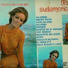 Discos de vinilo: SEXY COVER. DISCO L. P. DE VINILO DE MÚSICA SUDAMERICANA: RIO MANSO, BÉSAME MUCHO, CAUSA NE ÑAÑA, MU. Lote 24951107