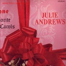 Discos de vinil: JULIE ANDREWS DISCO LP FAVORITE CHRSTMAS CAROLS CON ANDRE PREVIN. Lote 9289380