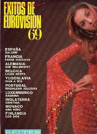 EXITOS DE EUROVISION 69 DISCO LP BELTER (Música - Discos - LP Vinilo - Festival de Eurovisión)