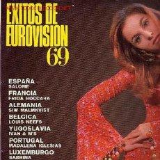 Discos de vinilo: EXITOS DE EUROVISION 69 DISCO LP BELTER. Lote 8268418