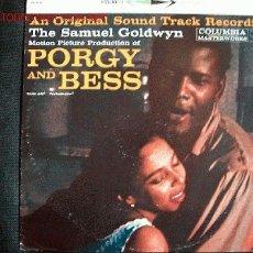 Discos de vinilo: LP-PORGY AND BESS, B.S.O., MÚSICA COMPUESTA POR GEORGE GERSHWIN. Lote 17833975