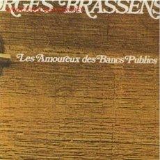 Discos de vinilo: DISCO L. P. DE VINILO DE GEORGES BRASSENS 2 EN FRANCÉS: LES AMOREUX DES BANCS PUBLICS, BRAVE MARGOT,. Lote 24753776