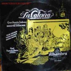 Discos de vinilo: LA CALESERA (FRANCISCO ALONSO). Lote 19993879