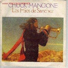 Discos de vinilo: LOS HIJOS DE SANCHEZ DISCO SINGLE BANDA SONORA ORIGINAL. Lote 13330450