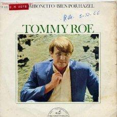 Disques de vinyle: TOMMY ROE. Lote 1112684