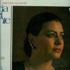Discos de vinilo: DISCO L. P. DE VINILO DE MARÍA DEL MONTE, BESOS DE LUNA: BESABA LA LUNA, SEVILLANAS'89: ASÍ ES LA VI. Lote 24993604