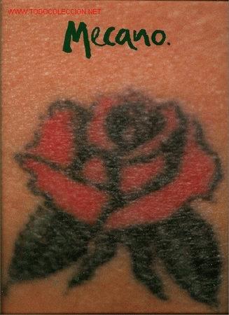 DISCO L. P. DE VINILO MAXI – SINGLE DE MECANO: UNA ROSA ES UNA ROSA (NORMAL), UNA ROSA ES UNA ROSA ( (Música - Discos de Vinilo - Maxi Singles - Grupos Españoles de los 90 a la actualidad)