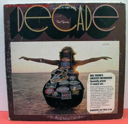 NEIL YOUNG ( DECADE ) USA 1976 LP33 TRIPLE REPRISE RECORDS (Música - Discos - LP Vinilo - Pop - Rock - Extranjero de los 70)