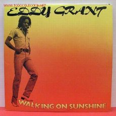Discos de vinilo: EDDY GRANT ( WALKING ON SUNSHINE ) USA- 1978 LP33 EPIC. Lote 1129213