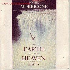 Discos de vinilo: LA MISION DISCO SINGLE BANDA SONORA VS909 1988 UK. Lote 20409478