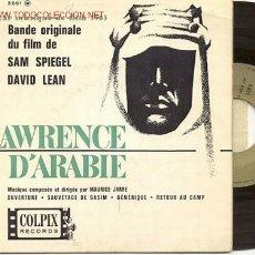 Discos de vinilo: EP 45 RPM / LAWRENCE D'ARABIE //////HOLA ENRIQUE,. Lote 21183463