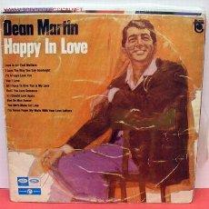 Discos de vinilo: DEAN MARTIN ( HAPPY IN LOVE ) LP33. Lote 1143732