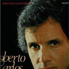 Discos de vinilo: DISCO DE VINILO L. P. DE ROBERTO CARLOS CANTA EN ESPAÑOL: LA PAZ DE TU SONRISA, ABANDONO, EL AÑO PAS. Lote 25062715