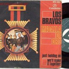 Discos de vinilo: SINGLE 45 RPM / LOS BRAVOS / JUST HOLDING ON / WE'LL MAKE IT TOGETHER /EDITADO POR COLUMBIA 1968 . Lote 17366634
