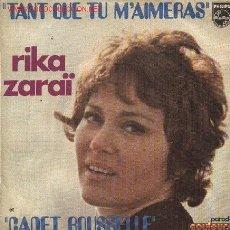 Disques de vinyle: RIKA ZARAI . Lote 1008263