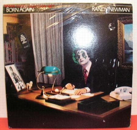 RANDY NEWMAN ( BORN AGAIN ) USA-1979 LP33 (Música - Discos - LP Vinilo - Pop - Rock - Extranjero de los 70)