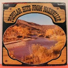 Discos de vinilo: POPULAR HITS FROM NASHVILLE LP33. Lote 1176928