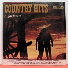 Discos de vinilo: COUNTRY HITS FOR LOVERS ( FAMOUS NASHVILLE ARTISTS ) LP33. Lote 1176951