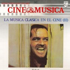 Discos de vinilo: CINE & MUSICA, LA MUSICA CLASICA EN EL CINE (II), TEMAS SELECCIONADOS DE PELICULAS (VER). Lote 24197145