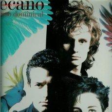 Discos de vinil: DISCO DE VINILO L. P. DE MECANO, DESCANSO DOMINICAL: EL CINE, NO HAY MARCHA EN NUEVA YORK, MUJER CON. Lote 25404547