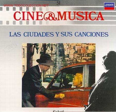 CINE & MUSICA - LAS CIUDADES Y SUS CANCIONES - TEMAS SELECCIONADOS DE LAS PELICULAS: VERTIGO, XXX (Música - Discos - LP Vinilo - Bandas Sonoras y Música de Actores )