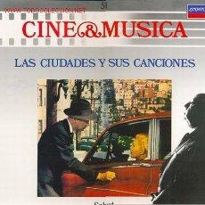 Disques de vinyle: CINE & MUSICA - LAS CIUDADES Y SUS CANCIONES - TEMAS SELECCIONADOS DE LAS PELICULAS: VERTIGO, XXX. Lote 24197136